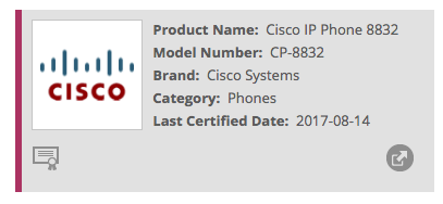 Cisco Phone 8832